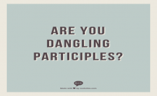 Dangling Participles