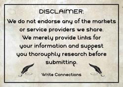 WriteConnectionsDisclaimer