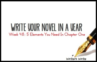 WRITE_YOUR_NOVEL_Week_48_5_Elements_You_Need_In_Chapter_One_to_Hook_Your_Reader